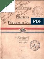 Federacion Paraguaya de Scoutismo 1938-1939