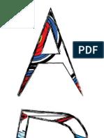 Zoe Carter Fashion Graphics Alphabet