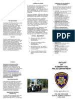 Police Officer Flyer July 2012
