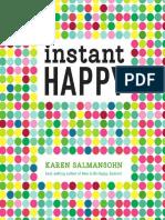 Instant Happy by Karen Salmansohn - Excerpt