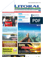 Jornal DoLitoral Paranaense - Edição 187 - Online - julho 2012
