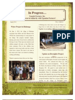In Progress Newsletter August 2012