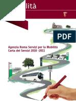 Carta Dei Servizi 2010 11 Roma