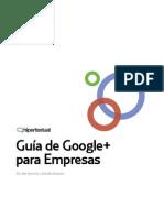Guía de Google Plus para empresas - Inti Acevedo y Marilín Gonzalo (2011)