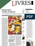 Supplément Le Monde des livres 2012.08.24