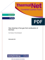 2E-3 Gas Cleaning in Flue Gas From Combustion of Biomass