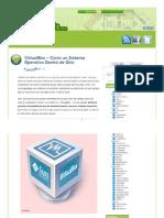 Bloganalisis Com Virtualbox Corre Un Sistema Operativo Dentro de Otro