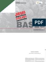 Bases Interescolar 2012
