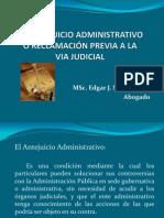 antejuicio administrativo