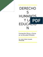 Derechos Humanos y La Educacion