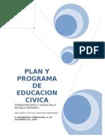 Plan y Programa de Educacion Civica