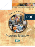 Marco Curricular Bellas Artes