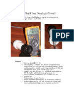 Build Your Own Light Meter
