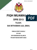 bai bithaman ajil-maybank