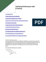 Top 11 Tricks for Maximum Performance Fortran