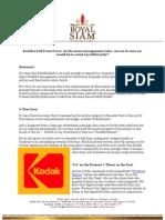 The Kodak Moment Aug 2012
