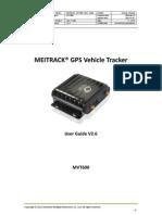 MEITRACK MVT600 User Guide V2.6