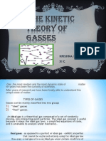 The Kinetic Theory of Gasses