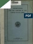 1913 Army Uniform Specs