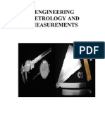 37817030 Engineering Metrology and Measurements Notes
