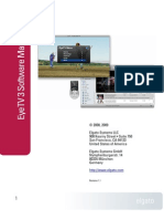 EyeTV 3.1 Software Manual
