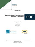 INVITATION conf+®rence Gouvernance locale et soci+®t+® civile - Fondation pour le Futur - v2