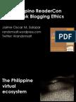 Book Blogging Ethics