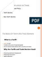 Government Influence on Trade