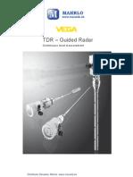 Vegaflex 80 reflektometricky hladinomer