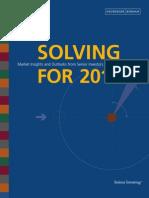 Solving for 2012