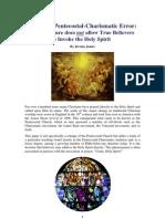 The Great Pentecostal-Charismatic Error