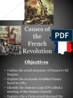 Causes French Rev