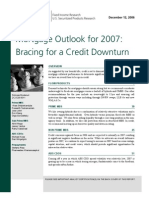 [Lehman Brothers] Mortgage Outlook for 2007 - Bracing for a Credit Downturn