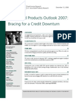 [Lehman Brothers] Securitized Products Outlook 2007 - Bracing for a Credit Downturn