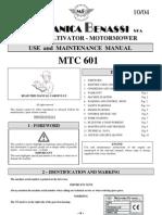 User's Manual GB MTC601 10-04 GB