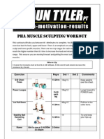 Muscle Sculpting Workout (Pha) 2 Dave Bishop