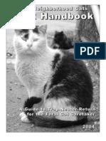 Neighborhood Cats TNR Handbook