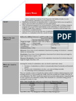 Acute Malnutrition Summary Sheet