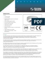 Optical Smoke Detector 2351 e