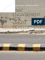 Civic Engagement for Urban Development