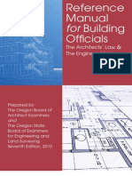Reference Manual for Building Officials 2010