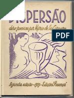 Dipersão - Mário de Sá-Carneiro