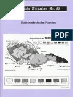 Historische Tatsachen - Nr. 85 - Siegfried Egel - Sudetendeutsche Passion (2003, 40 S., Scan)