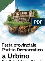 FESTA URBINO 2012. IL PROGRAMMA COMPLETO