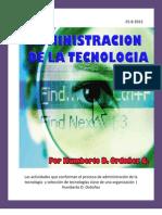 ADMINISTRACION DE LA TECNOLOGIA