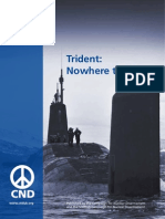 Trident Nowhere to Go