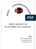 Procurement and Inventory Management