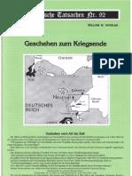 Historische Tatsachen - Nr. 92 - William Douglas - Geschehen Zum Kriegsende (2004, 40 S., Scan)