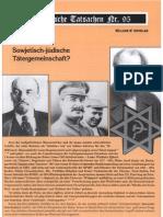 Historische Tatsachen - Nr. 95 - William Douglas - Sowjetisch-Juedische Taetergemeinschaft (2005, 40 S., Scan)