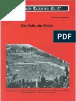 Historische Tatsachen - Nr. 97 - Udo Walendy - Ein Volk, Ein Reich (2005, 44 S., Scan)